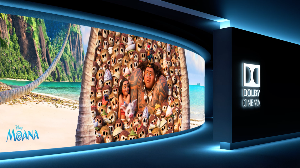 Dolby Theaters at AMC will be playing MOANA!