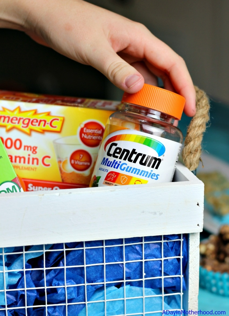 Doing well in school starts with an alert mom. Centrum can help keep us balanced