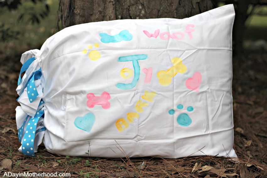 Make this DIY Dog Pillow easily