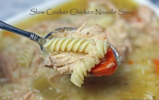 This Pasta Recipes: Slow Cooker Chicken Noodle Soup is made better with La Moderna Pasta