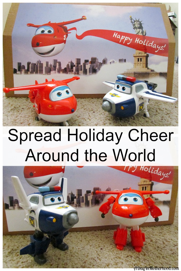 Delivering holiday cheer with Super Wings. ad