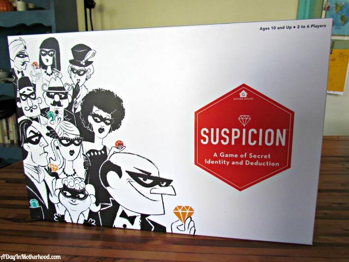 Suspicion by Wonder Forge. ad