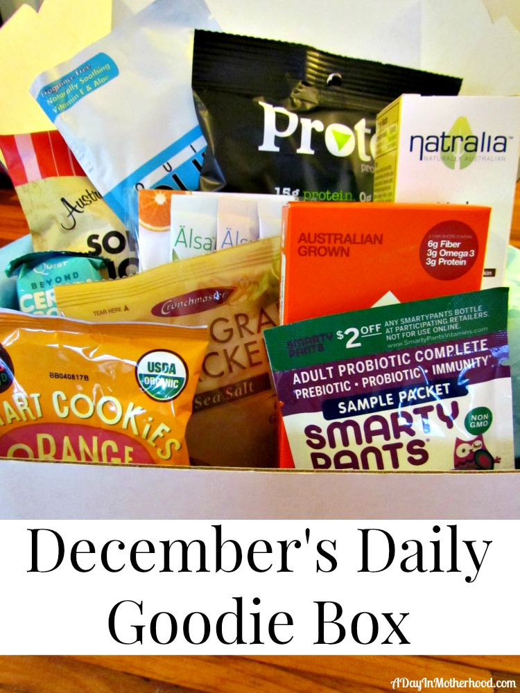 December Daily Goodie Box. ad