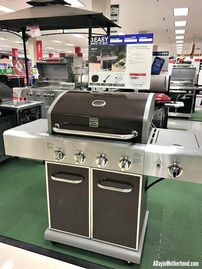 A grill can be a last minute gift that you have delivered!