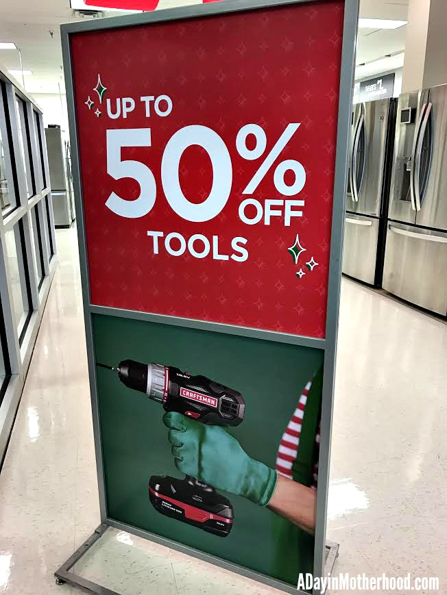 Get serious deal on tools for last minute gifts