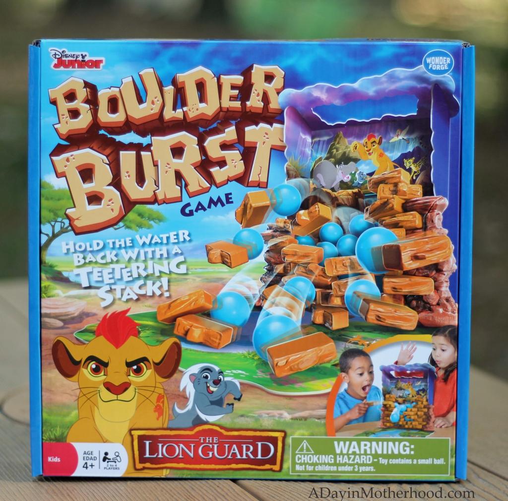 Boulder Burst is a fun game for smaller kids