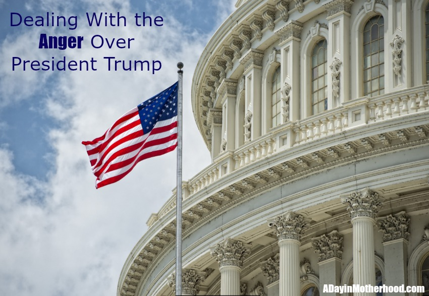 How are you Dealing With the Anger Over President Trump? Here is an idea to turn it around!