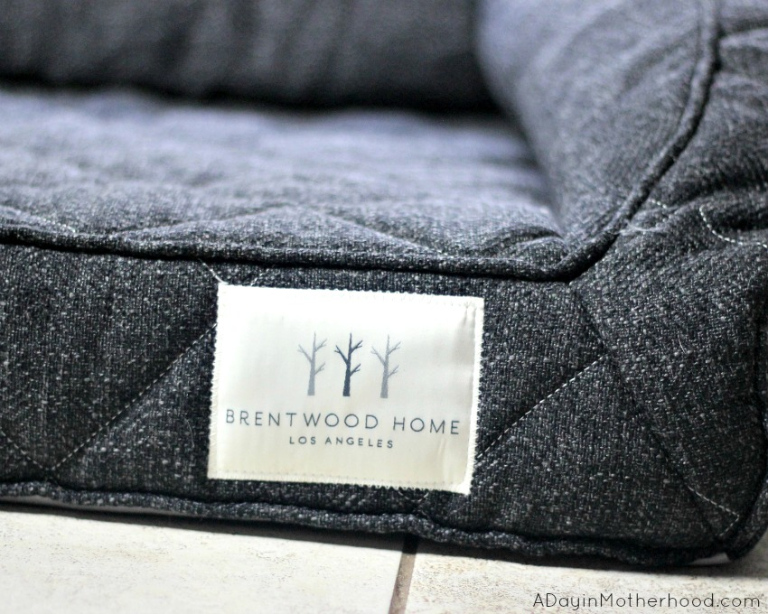 The orthopedic dog bed by Brentwood home is elegant