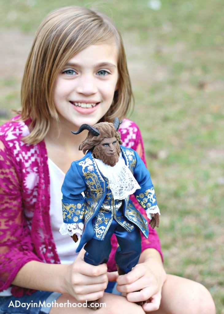 My oldest thinks Beast of the Beauty and the Beast toys is the best!