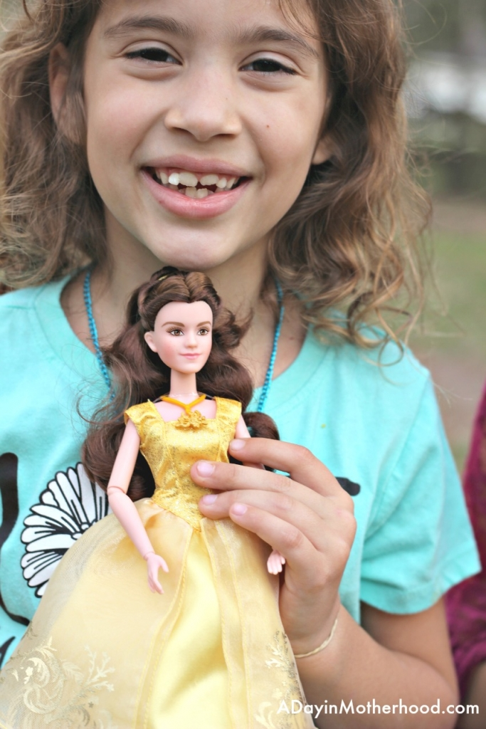 Belle in the Beauty and the Beast toys is a favorite