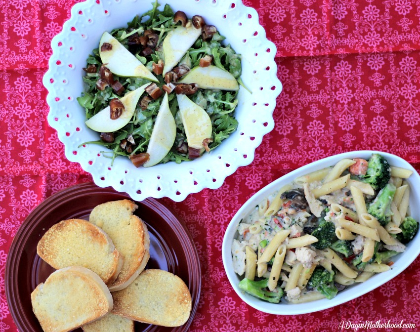 Pear and Date Salad Recipe plus pasta makes every meal great