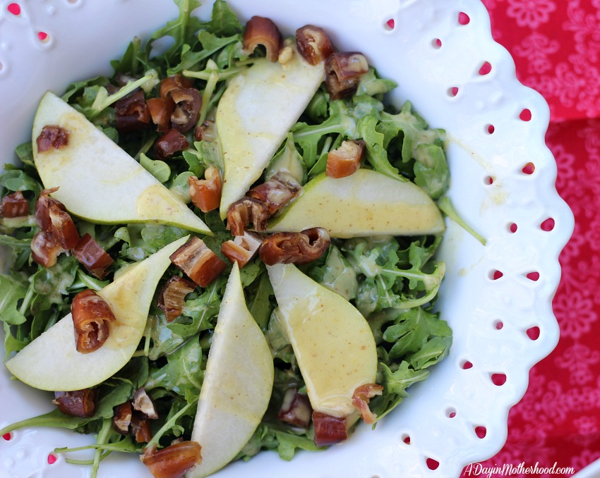 The Pear and Date Salad Recipe is amazing!