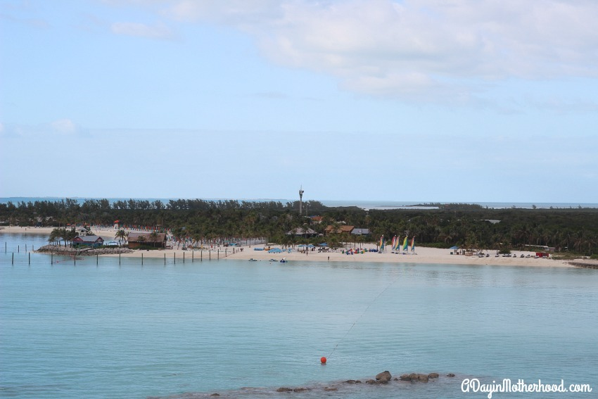 Castaway Cay is a playground for kids and adults