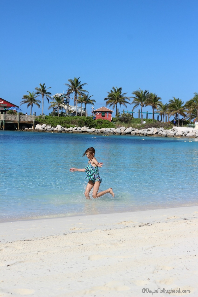 Castaway Cay is simply beautiful!