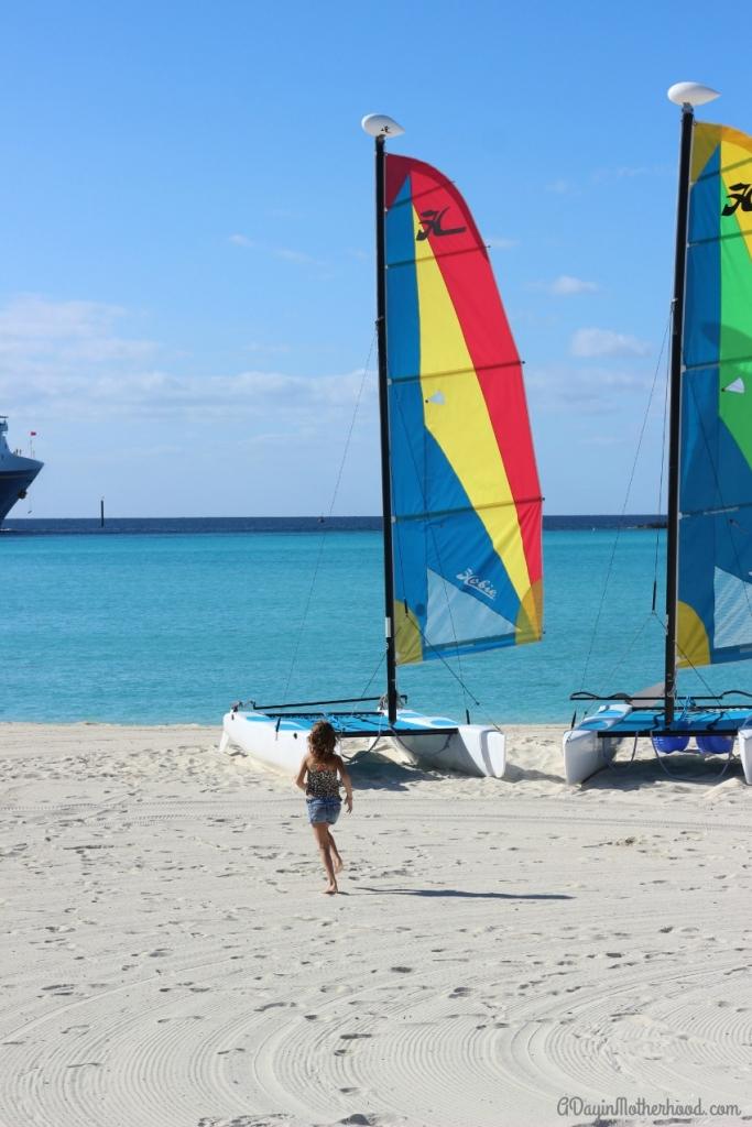 Enjoy the activities on Castaway Cay