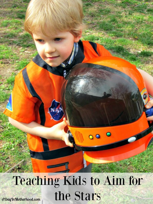 Teach Kids to Aim for the Stars through dress up play. ad