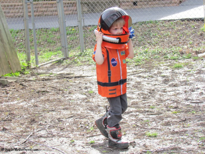 Teach kids to aim for the stars with dress ups from Aeromax. ad