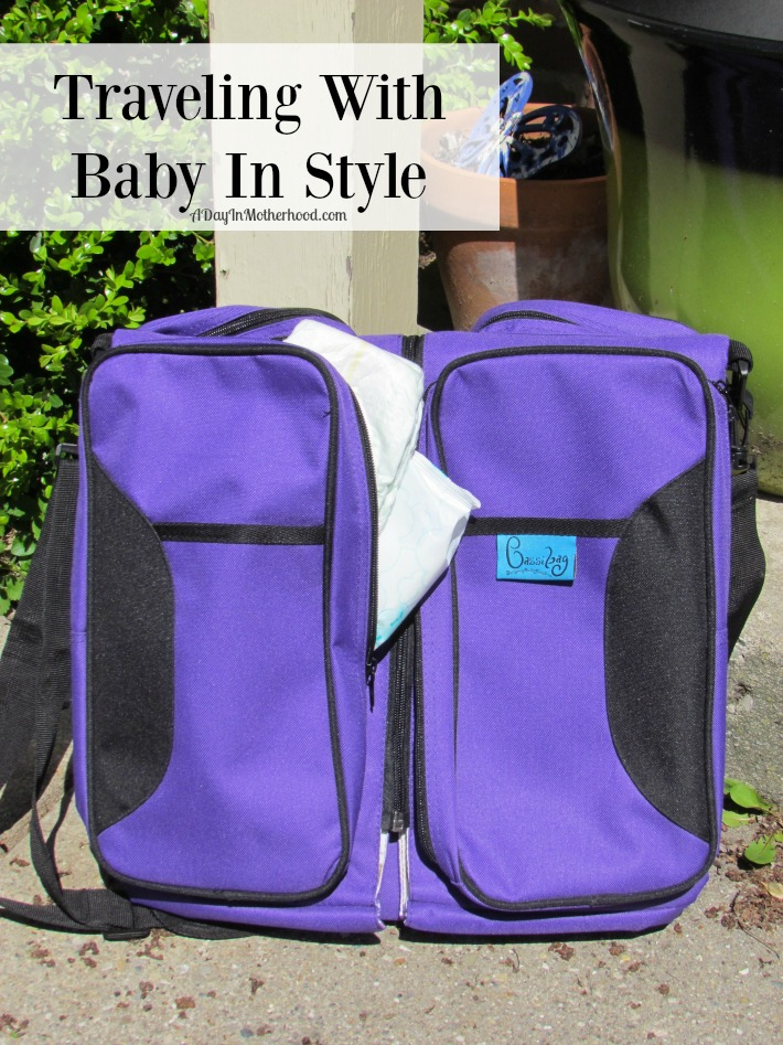 Travel in style with baby this summer and the Bassibag. ad