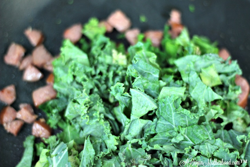 Wilt the kale to make this 4 Mother's Day Brunch Recipes