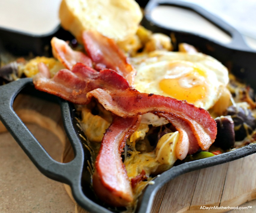 Cast Iron Skillet Bacon and Potatoes Recipe brings taste home