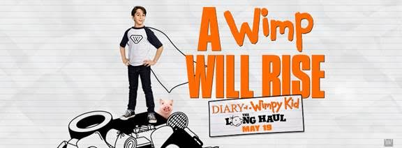 WIN a Diary of the Wimpy Kid: The Long Haul Movie Prize Pack + wimp yourself