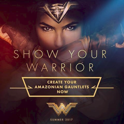 WIN a $25 Gift Card to See Wonder Woman in Theaters June 2 & show your warrior
