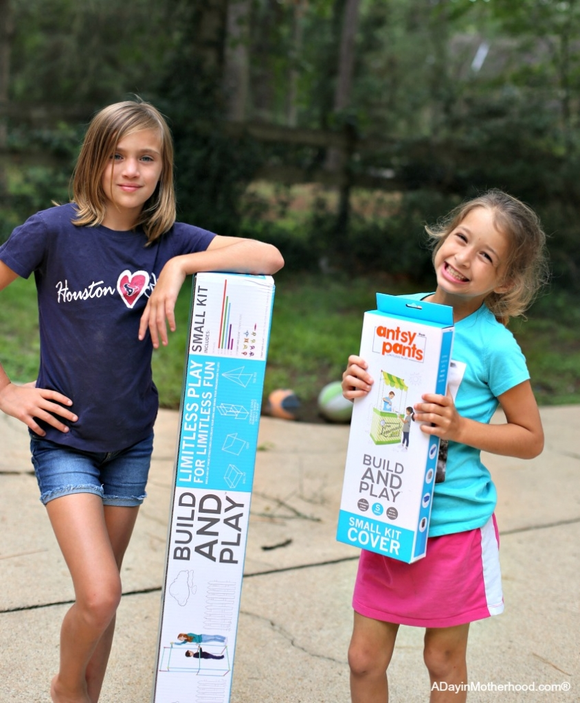 Let Your Kids Build Creatively this Summer with Antsy Pants