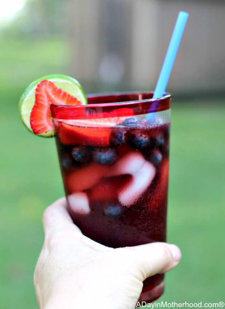 Celebrate the 4th with a Meal and Specialty Drink for the Red, White and BOOM with this awesome drink