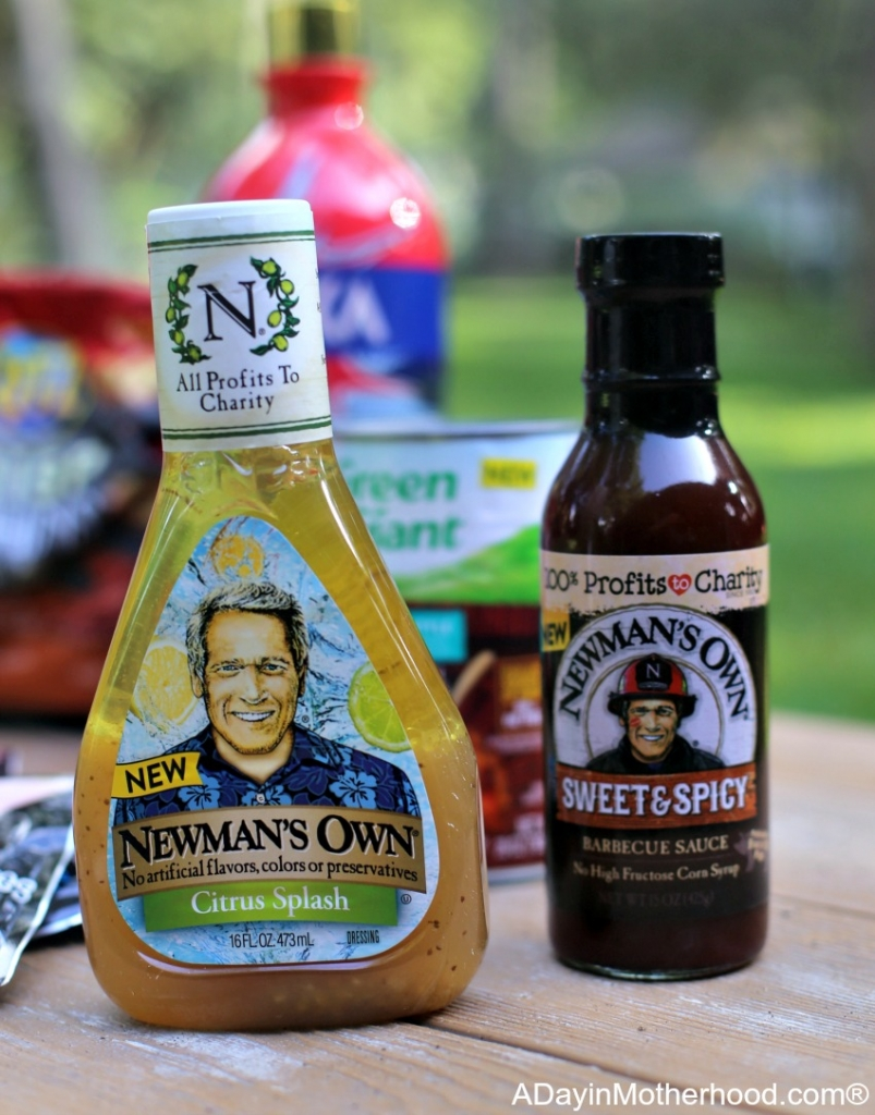 Celebrate the 4th with a Meal and Specialty Drink for the Red, White and BOOM with Newman's Own