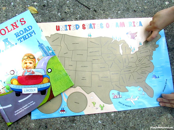 My U.S.A. Road Trip gift set review AD