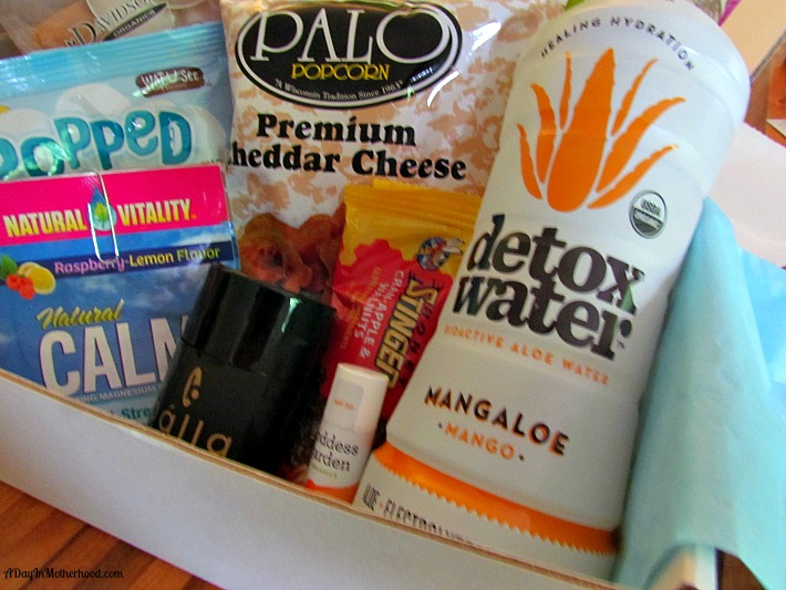 Grab your daily goodie box for free samples. ad