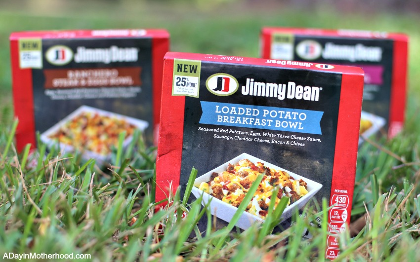 Eating Well With a Hectic Life Can be Done with Jimmy Dean Bowls