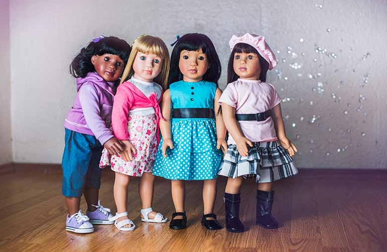 Starpath Dolls Are Multi-Ethnic Best Friends Any Child Will Love - just choose