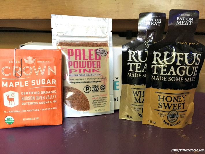 september goodies for the kitchen from Daily Goodie Box. ad