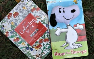 WIN 2 Peanuts Themed Books to Relax With