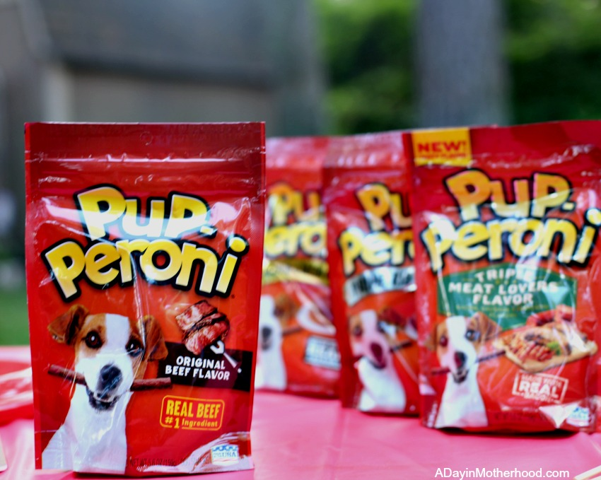 Celebrating Adopted Dogs the Way They Deserve to Be Celebrated with Pup-Peroni