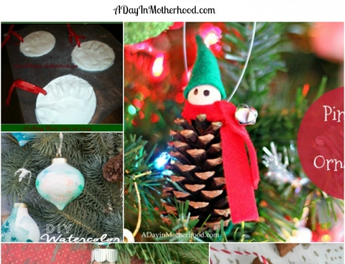 5 Homemade Ornaments for Kids