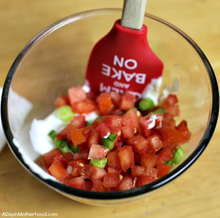 Spruce Up Your BLT Dip with Sausage and tomatoes