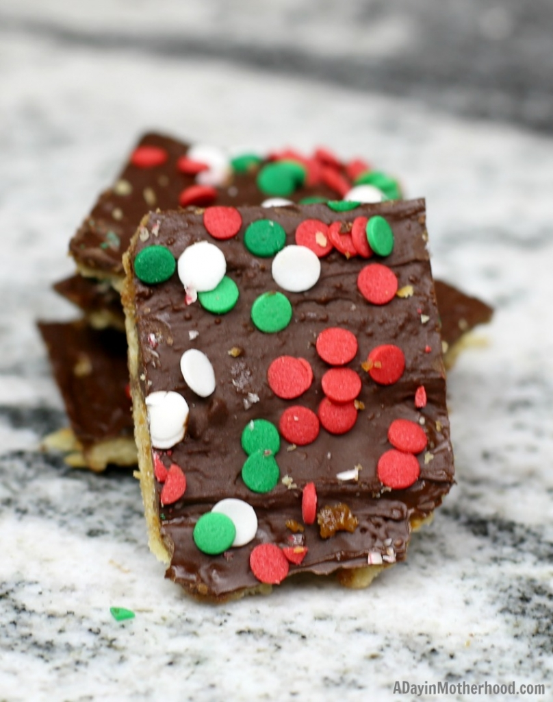 Easy Saltine Cracker Toffee Recipe & decorate them too