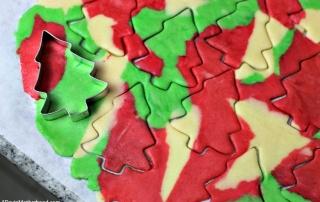 Camo Christmas Tree Cookies Recipe that's fun
