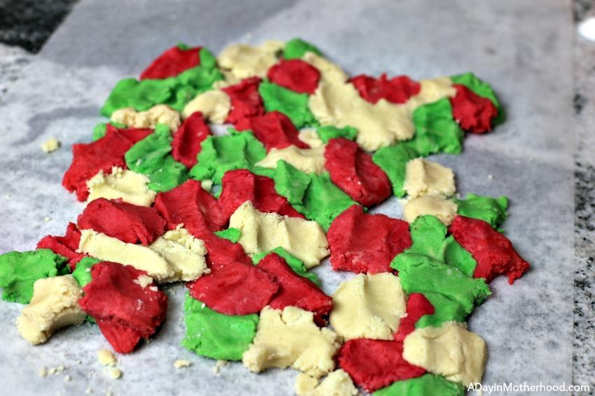 Camo Christmas Tree Cookies Recipe start