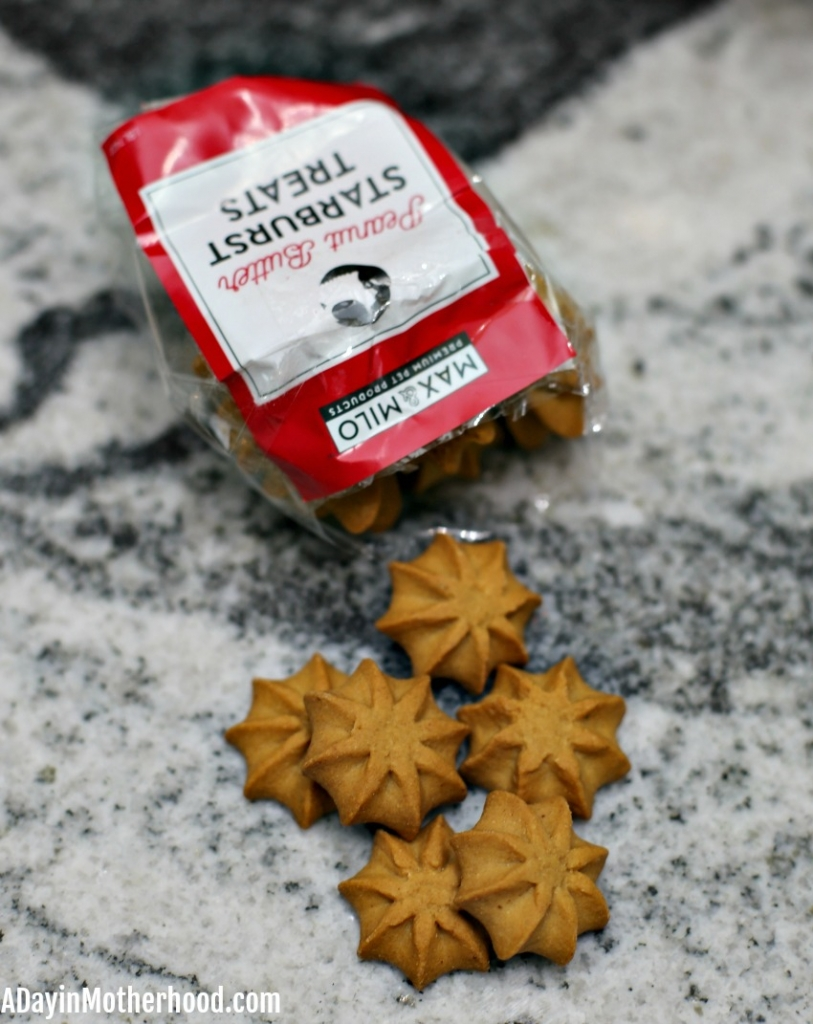 Treat Your Pets This Holiday Season with Baskets from 1-800-Baskets like star treats