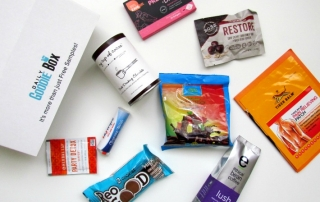 a box full of comfort from Daily Goodie Box. ad