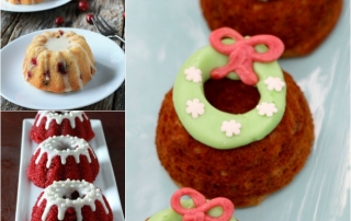 5 Awesome Holiday Mini Bundt Cakes