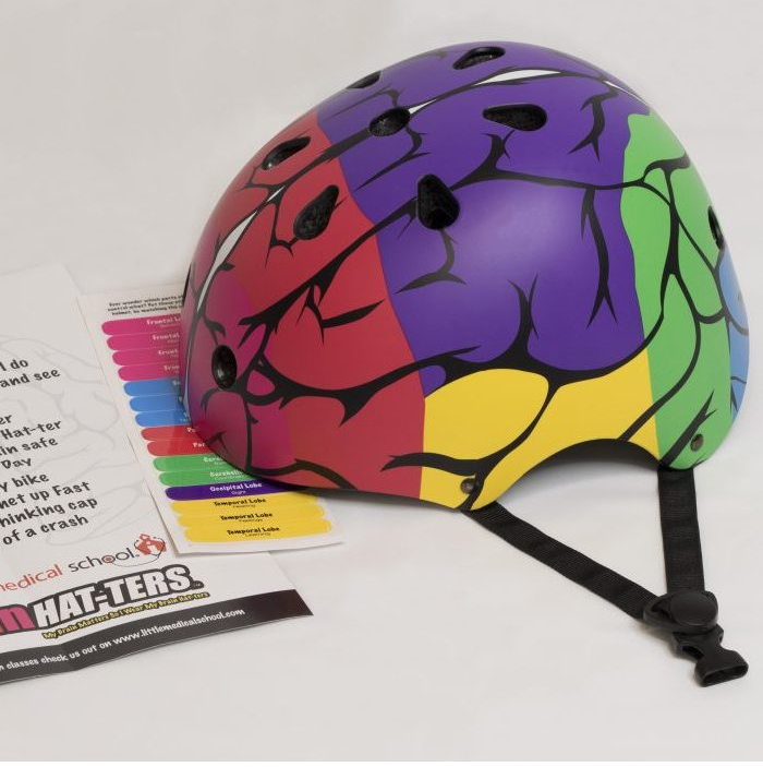 My Little Veterinarian Kit Teaches Love and Care for Pets + WIN a Brain Hat-ter Bike Helmet like this!