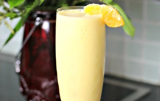 Orange Creamsicle Smoothie Recipe with a Veggie Twist