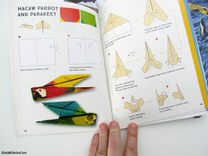 Origami Fold and Fly Birds. ad