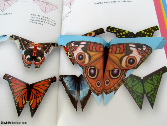Fold and Fly Butterflies Origami Kits. ad