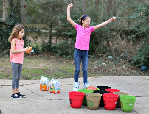 DIY Basketball Bucket Game