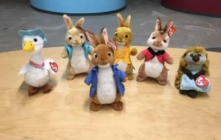 WIN Peter Rabbit Movie Plush Collectibles